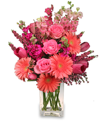 Perfectly Pink from Westbury Floral Designs in Westbury, NY