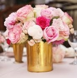 Golden Romance from Westbury Floral Designs in Westbury, NY