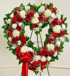 Classic Open Heart Spray from Westbury Floral Designs in Westbury, NY