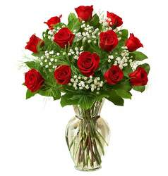 12 Red Roses from Westbury Floral Designs in Westbury, NY