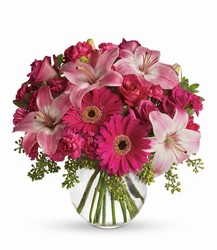 Plenty of Pink from Westbury Floral Designs in Westbury, NY