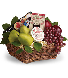 Delicious Delights Basket from Westbury Floral Designs in Westbury, NY