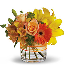 Sunrise Splendor from Westbury Floral Designs in Westbury, NY
