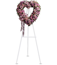 Rose Garden Heart  from Westbury Floral Designs in Westbury, NY