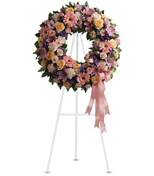 Graceful Wreath from Westbury Floral Designs in Westbury, NY