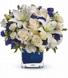 Sapphire Skies Bouquet from Westbury Floral Designs in Westbury, NY