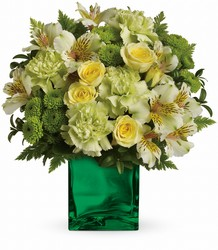 Emerald Elegance  from Westbury Floral Designs in Westbury, NY