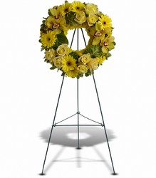 Circle Of Sunshine from Westbury Floral Designs in Westbury, NY