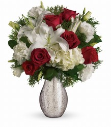 A Christmas Kiss from Westbury Floral Designs in Westbury, NY