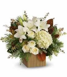 Snowy Woods Bouquet from Westbury Floral Designs in Westbury, NY