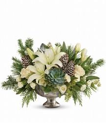 Winter Wilds Centerpiece from Westbury Floral Designs in Westbury, NY