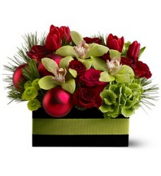 Holiday Chic from Westbury Floral Designs in Westbury, NY