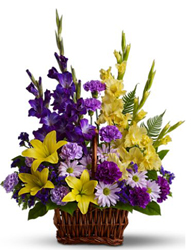 Basket of Memories from Westbury Floral Designs in Westbury, NY
