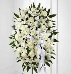White Elegance Spray from Westbury Floral Designs in Westbury, NY